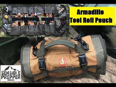 Armadillo Tool Roll Pouch   Survival, EDC & Tools