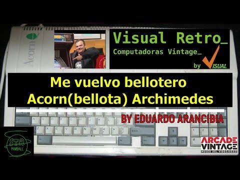 #7-RMO Me vuelvo bellotero Acorn(bellota) Archimedes by Eduardo Arancibia