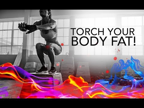 Fat Burning HIIT Workout (TORCH YOUR BODY FAT!!)