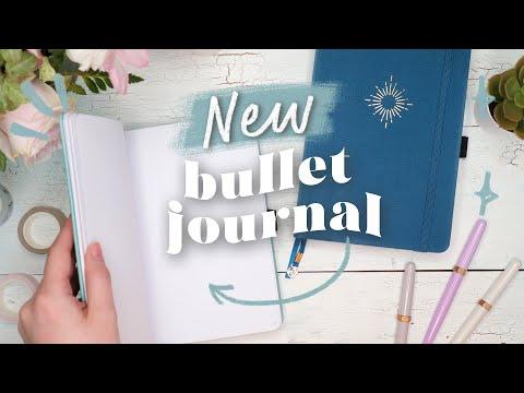 Starting a New Bullet Journal