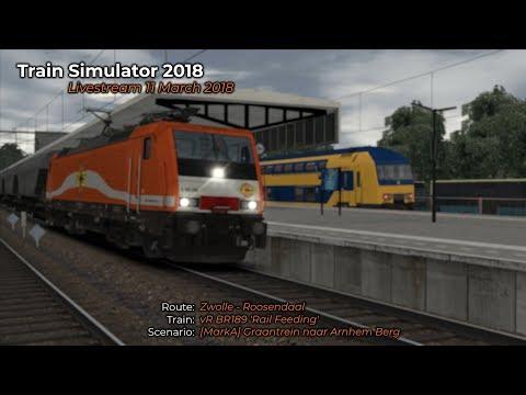 MarkA Graantrein naar Arnhem Berg Livestream 11032018