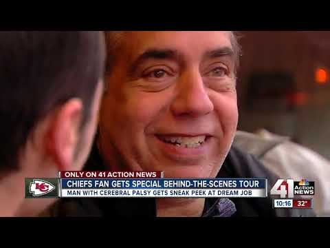 Chiefs fan gets special behind-the-scenes tour