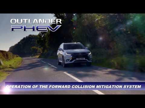 Automatiskt kollisionsvarningssystem (FCM) -- Outlander Plug-in Hybrid Teknologi (Eng)