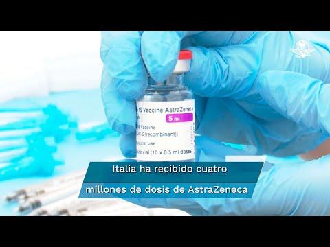 Igual que Alemania, Italia sólo usará vacuna de AstraZeneca en mayores de 60 años