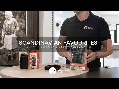 Scandinavian favourites: Jupio-batterier till din kamera!