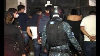 Más de 200 personas capturadas en fiestas clandestinas durante el fin de semana
