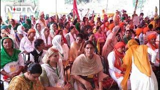 Women Farmers Hold 'Kisan Sansad' At Delhi's Jantar Mantar - NDTV