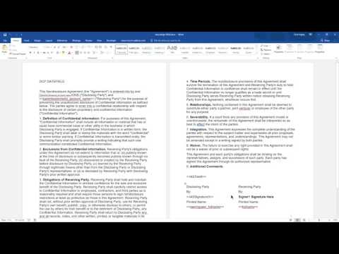 Effective e Signature processing in MS Dynamics 365 with DocumentsCorePack and AssureSign
