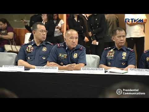 Joint National Peace and Order Council (NPOC) – Regional Peace Order Council (RPOC)  03/14/2019