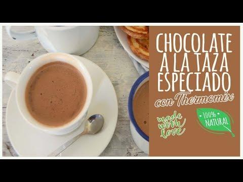 Chocolate a la taza especiado