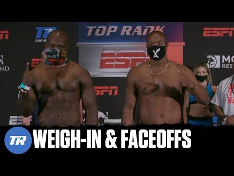 Takam vs Forrest: Weigh-In & Faceoffs 14
