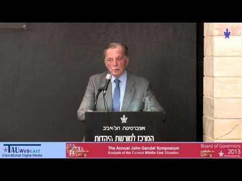 A Disintegrating Syria: Prof. Itamar Rabinovich