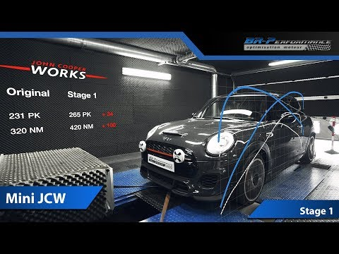 Mini Cooper S JCW 2018 Remap Stage 1 with Eventuri intake By BR-Performance