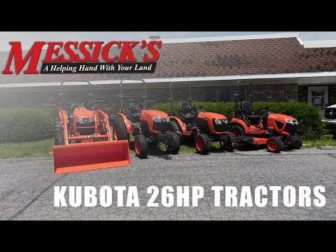 Comparing Kubota's 26hp Compact Tractors Picture