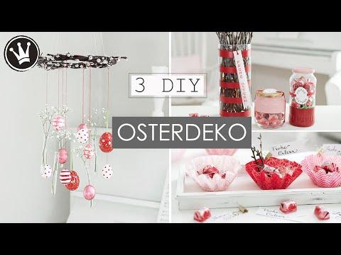 3 DIY Ideen für OSTERN |  Osterdeko selber machen | Frühlingsdeko basteln | DekoideenReich