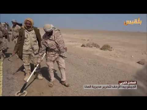 الجيش يبدأ الزحف لتحرير مديرية المخا | تقرير: وديع عطا