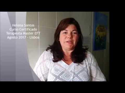 Helena Santos Terapeuta Certificado EFT Master Practitioner