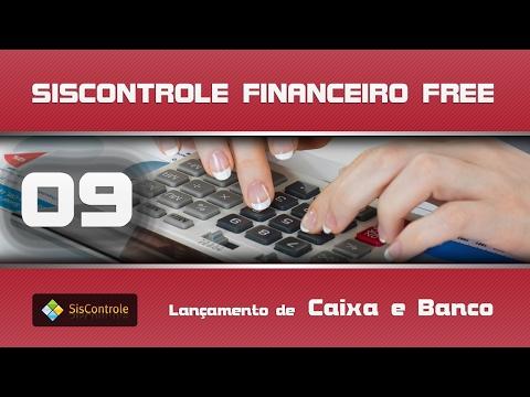 09 Lançamento de Caixa e Banco - Curso Siscontrole Financeiro Free