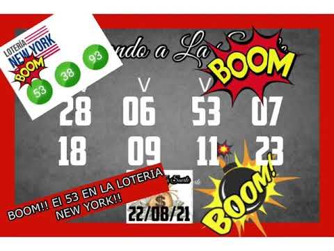 BOOM!! EL 53 EN LA LOTERIA NEW YORK!!