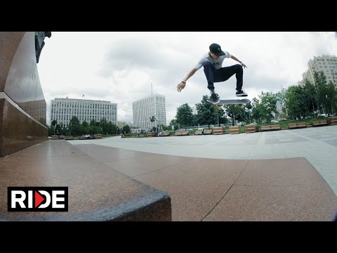Skating in Russia! Egor Kaldikov & Friends Skate the Streets of Moscow