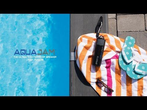 Vattentät högtalare - Aquajam
