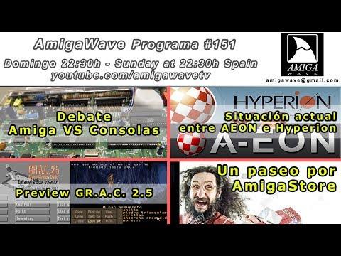 AmigaWave #151 - Intercambiando las CIA de un A500, ¿ Hyperion VS AEON ? y AmigaStore.