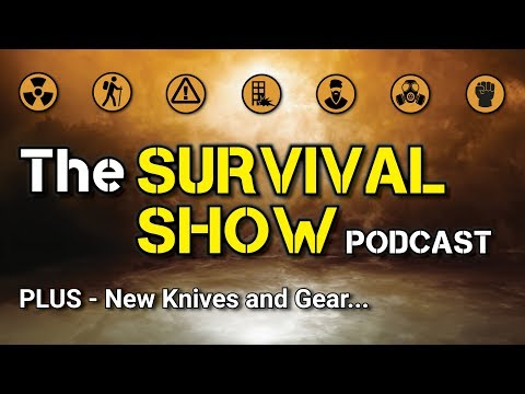 NEW! The SURVIVAL SHOW + NEW Knives and Gear - Coming Soon...