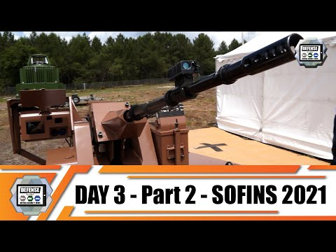SOFINS 2021 latest innovations and teconologies of military equipment for Special Forces