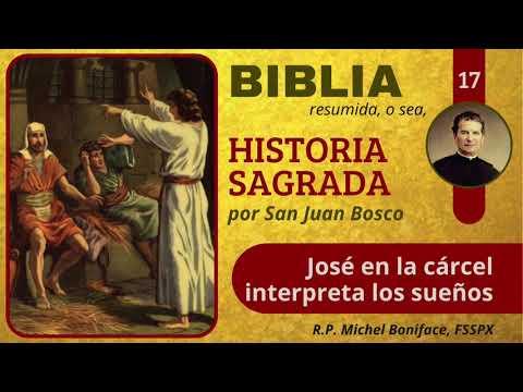 17 José en la cárcel interpreta los sueños | Historia Sagrada