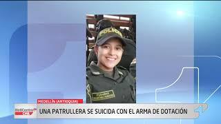 Patrullera se quita la vida con arma de dotación en Medellín
