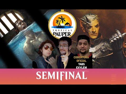 Jeskai Affinity VS Black Burn - Tropical Pauper - Narração ao vivo - Semifinal