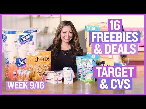 ★ 16 Target & CVS Coupon DEALS & FREEBIES (Week 9/16 – 9/22)