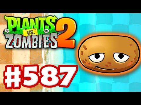 connectYoutube - Plants vs. Zombies 2 - Gameplay Walkthrough Part 587 - Hot Potato on Big Wave Beach!