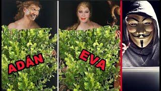 Anonymous  revela que Chabelo y Silvia Pinal son en realidad Adán y Eva