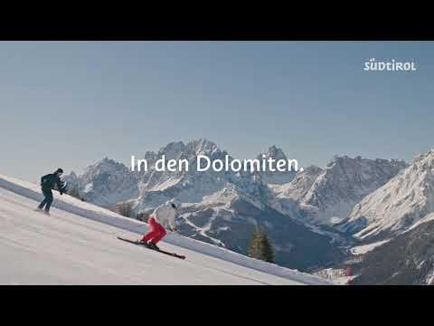 Winter in den Dolomiten   Südtirol