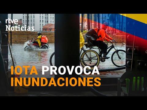 COLOMBIA sufre LLUVIAS TORRENCIALES tras el paso sucesivo de las tormentas ETA e IOTA | RTVE