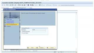 Create a web service with SAP ECC 6 0