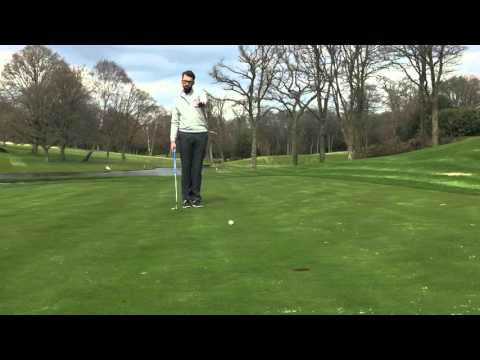 Stoke Park Golf Academy shows you how to putt on their 7th hole