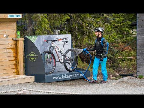 Innovativ vaskestasjon fra Trysil Bike System