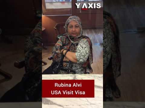 Rubina Alvi USA Visit Visa PC Sandeep B