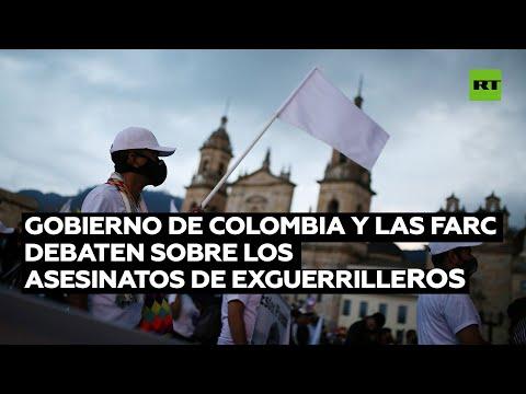 Gobierno de Colombia y las FARC debaten sobre los asesinatos de exguerrilleros
