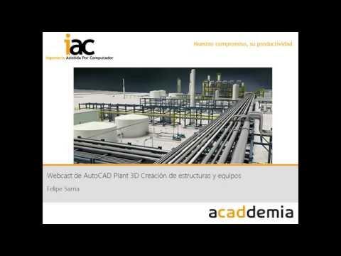 AutoCAD Plant 3D creación de Estructuras y Equipos