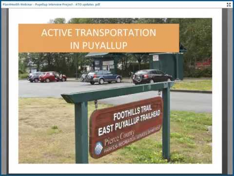 Plan4Health Mini-Webinar: Active Transportation Community of Interest