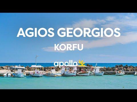 Reis med Apollo til Agios Georgios på Korfu