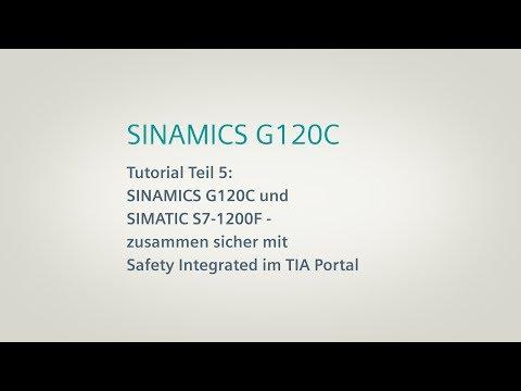SINAMICS G120C, Tutorial Teil 5