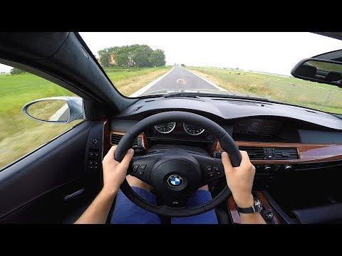 6-Speed Manual BMW M5 E60: POV Test Drive & Soundcheck!