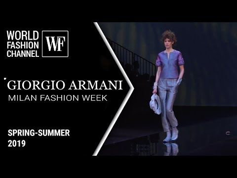 GIORGIO ARMANI SS 2019 | Milan fashion week