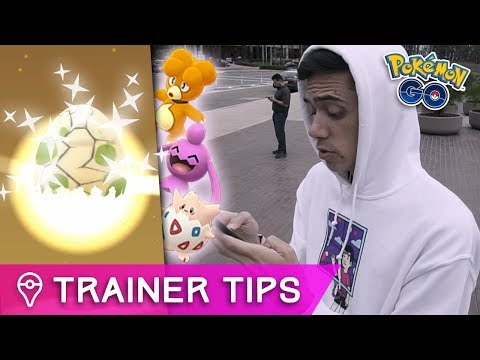 connectYoutube - SIX NEW SHINY POKÉMON! | Pokémon GO 2km Easter Egg Event