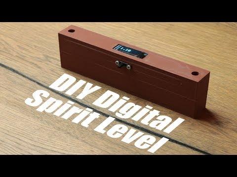 DIY Digital Spirit Level || Accelerometer Tutorial