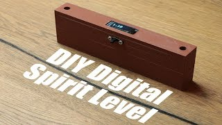 DIY Digital Spirit Level || Accelerometer Tutorial